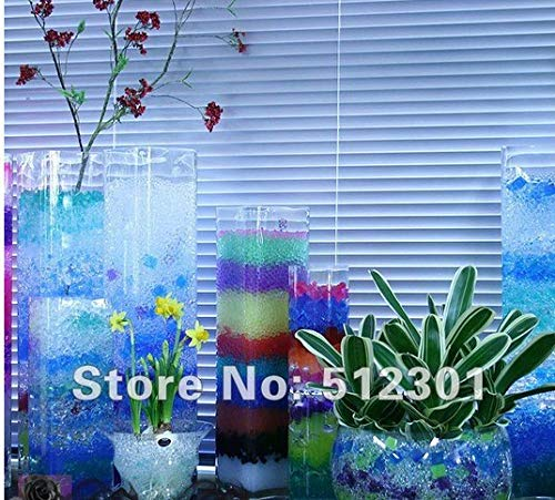(Bead Making - 500 Bags Crystal Soil Water Beads Flower Mud - Paperweight Ceiling Hanger Basketball Light Basket Dish Crystal Wall Mount Handle Ball Bead Sconce Chandelier Trophy Plaque)