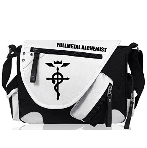 YOYOSHome Anime Cosplay Handbag Cross-body Bag Messenger Bag Shoulder Bag (Fullmetal Alchemist) - Messenger Full Metal Alchemist Bag