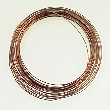 COPPER WIRE  16GA  5 OZ  45 FT.HALF HARD SPOOL SOLID COPPER