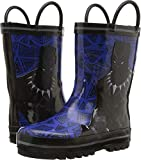 Favorite Characters Baby Boy's AVF504 Black Panther¿ Rain Boot (Toddler/Little Kid) Blue 11 M US Little Kid M