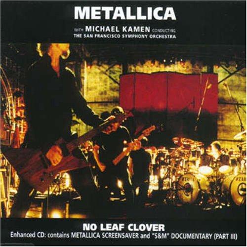 No leaf clover sheet music for flute, clarinet, violin, oboe.