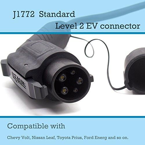 Level 2 Electric Vehicle Car Charger Volt Leaf J1772 NEMA 10-30 DRYER  23/' LONG