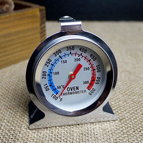 Meat Tray - 1pcs Food Meat Temperature Stand Up Dial Oven Thermometer Stainless Steel Gauge Gage Cooker Baking - Supply Face Water Gauge Temperature Watch Bbq Meat Steel Oven Thermometer H ()