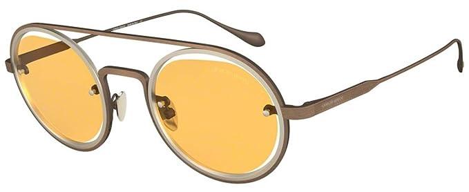 Gafas de Sol Giorgio Armani AR 6085 BRUSHED BRONZE/YELLOW ...
