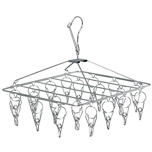 IRIS Stainless Steel Laundry Angled Hanger (20 Pins)