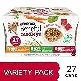 Purina Beneful Wet Dog Food Variety Pack, Medleys ...