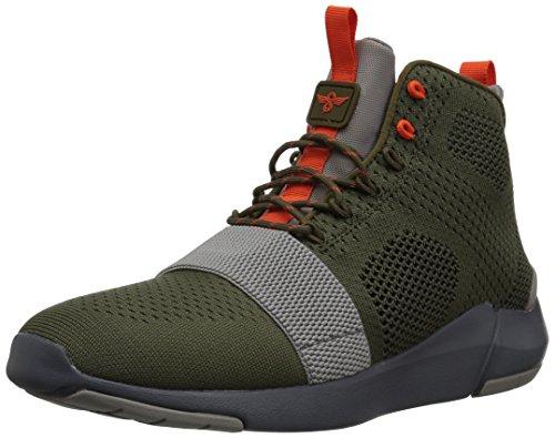 Creative Textile (Creative Recreation Men's Modica Sneaker, Military Grey, 10.5 D US)