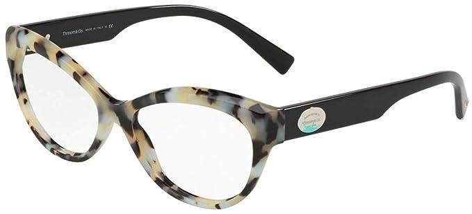 a2d0b631095e Tiffany RETURN TO TIFFANY COLOR SPLASH TF 2176 GREY HAVANA women Eyewear  Frames  Amazon.co.uk  Clothing
