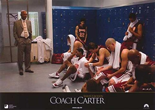 Coach Carter (11 x 14 Poster German E) POSTER (11