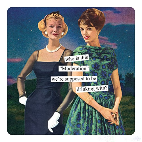 (Anne Taintor Square Refrigerator Magnet - Who Is This