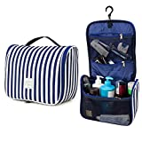 Hanging Toiletry Bag - Large Capacity Travel Organizer for Men and Women - Toiletry Kit, Cosmetic Bag, Makeup Bag - Travel Accessories