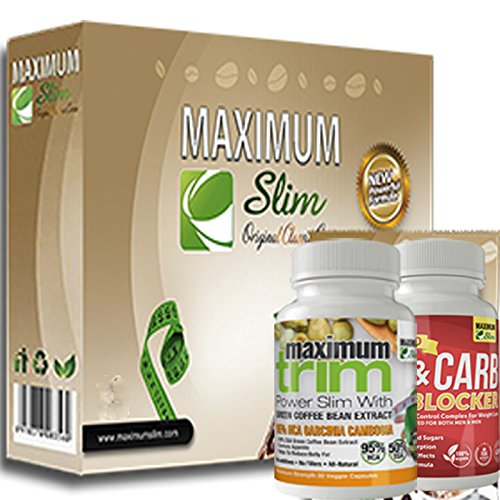 JUMP START your weight loss with the Maximum Slim kit. Includes Classic Cocoa, Fat & Carb Blocker & Garcinia Cambogia. Everything thing you NEED to BOOST your METABOLISM Review