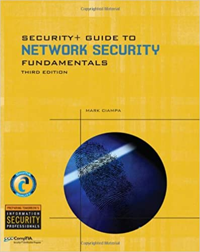 Security+ Guide to Network Security Fundamentals (Cyber Security ...
