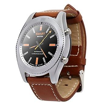 NO.1 S9 Smart Watch MTK2502 NFC deporte salud Tracker Bluetooth 4.0 inteligente reloj de pulsera Monitor de frecuencia cardíaca para Android IOS