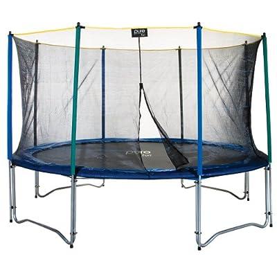 Pure Fun 9012TS 12' Trampoline & Enclosure Set by Pure Fun