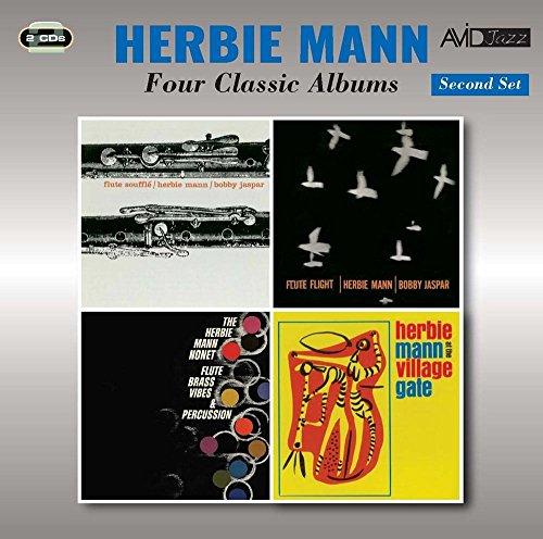 Flute Album - 4 Classic Albums (Flute Souffle / Flute Flight / Flute Brass Vibes & Percussion / At The Village)