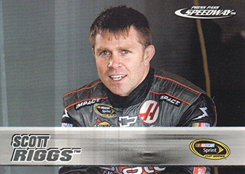 2008 Press Pass Speedway NASCAR Racing #10 Scott Riggs (Riggs Nascar Scott)