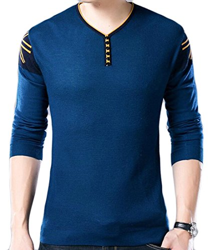 Discount ainr Men's Basic Long Sleeve Warm Pullover Knitted Sweater supplier