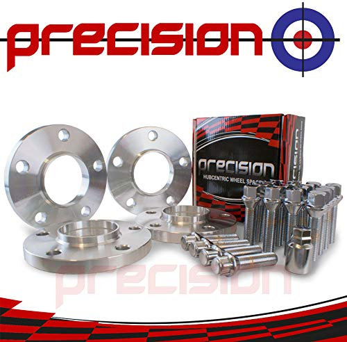 Precision Wheel Spacers 2pr 15mm with Bolts and Locking Bolts for ƁMW X4 2013 On