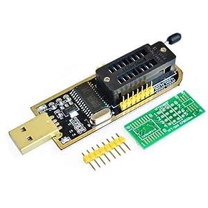 Organizer SOIC8 SOP8 Test Clip For EEPROM 93CXX / 25CXX / 24CXX + CH341A 24 25 Series EEPROM Flash BIOS USB Programmer Module (2)