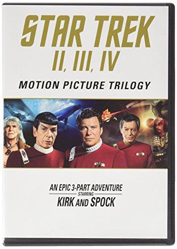 Star Trek: Motion Picture Trilogy (Domestic) [Blu-ray]