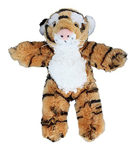 Cuddly Soft 8 inch Stuffed Tiger.We stuff 'em.you love (Orange Soft Bear)