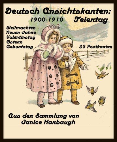 Deutsch Ansichtskarten 1900-1910: Feiertag (German (1910 Postcard)