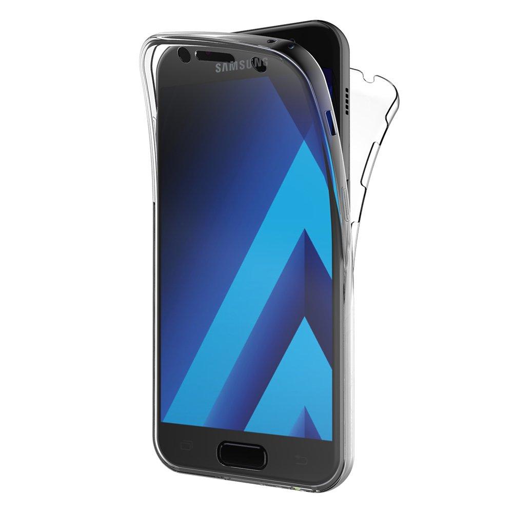 AICEK Funda Samsung Galaxy A3 2017, Transparente Silicona ...
