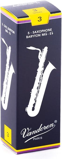 Strength 3.0 Single Eb Baritone Saxophone Reeds Rico Royal