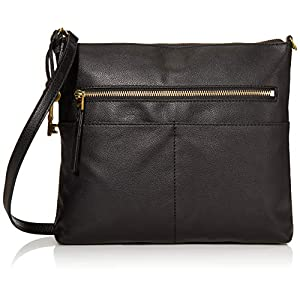Fossil Women's Fiona Leather Crossbody Handbag Purse