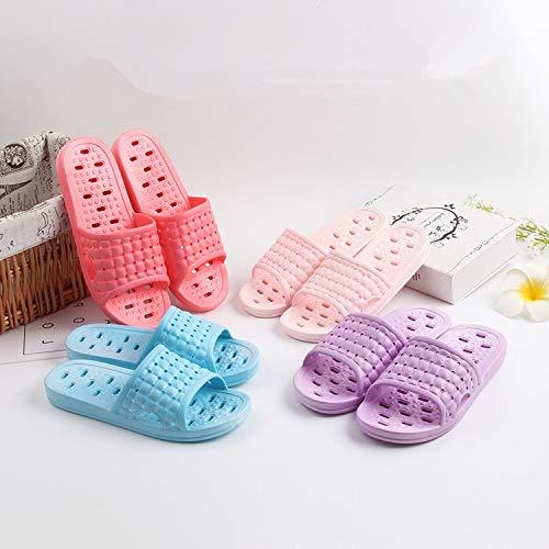 Estate Interna Fondo Cachi Spesso Pantofole Plastica Qsy Perdita Slip Shoe Maschile Casa Coppia Cava Bagno Da xXURvqCw