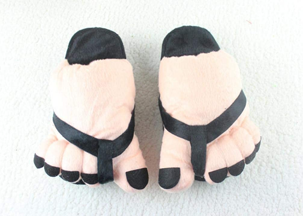 Black JaHGDU Ladies Casual Cute Toes Style Appearant Slippers Super Soft Plush Paws Comfortable Special Design Home Leisure Cotton Slippers