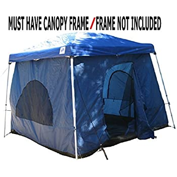 Amazon Com Camping Tent Attaches To Any 10 X10 Easy Up