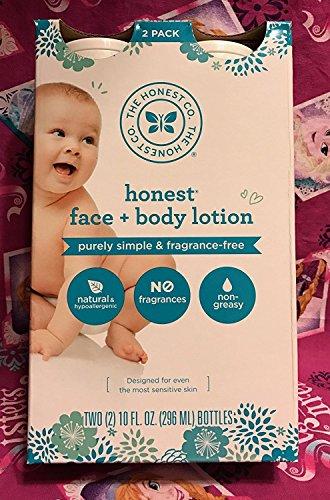 The Honest Company Face & Body Lotion 10 oz
