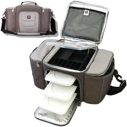 6 PACK FITNESS 6 Pack - Bolsa, tamaño 21 x 41 x 23 cm, Color Gris ...