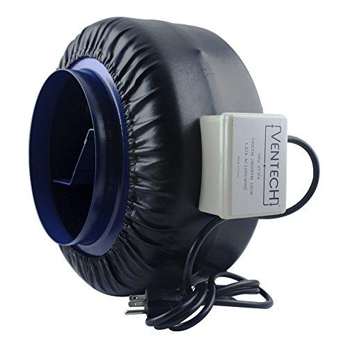 Ventech Vt If 8 Inline Exhaust Fan Blower Centrifugal Fan
