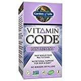 Garden of Life Vitamin Code Raw Prenatal Multivitamins, 180 Count