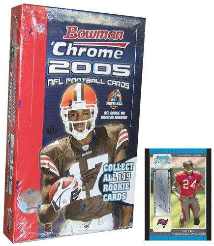 - 2005 Bowman Chrome Football Hobby Box