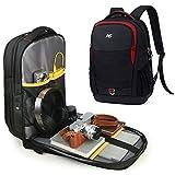 ASPENSPORT Laptop Backpacks for Men & Women Computer Travel Bags Water Resistant Business Backpack Fit.s 15.6 Inch College Large Bookbags Full Open Backpack Durable Rucksacks Red