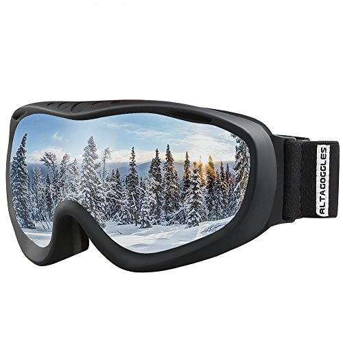 AKASO Ski Goggles An-ti Fog Double Lens Skate Glasses For Men ,Women & Youth, UV protection Windproof Snowboard Skiing - Choose To How Glasses