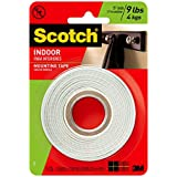 Scotch Indoor Mounting Tape, 1/2-inch x 75-inches, White, 1-Roll (110P)
