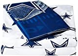 Northwest Officially Licensed The Company NFL Dallas Cowboys Sheet Set, Twin
