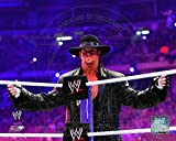 World Wrestling Entertainment - The Undertaker WrestleMania XXVII Action Photo 14 x 11in