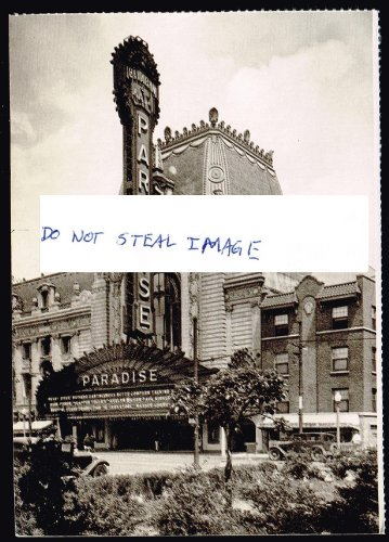 The Paradise Movie Palace On Crawford Avenue Near Washington Boulevard In 1929 The Year It Opened Chicago Postcard