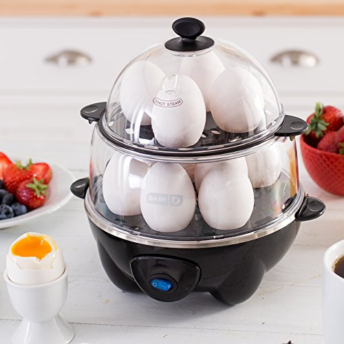 Dash DEC012BK Deluxe Egg Cooker by Dash (Image #1)