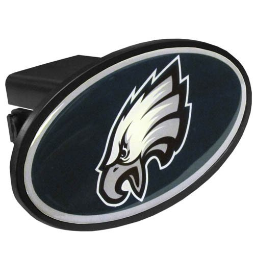 NFL Philadelphia Eagles Plastic Logo Hitch Cover, Class III (Receiver Hitch Cover)