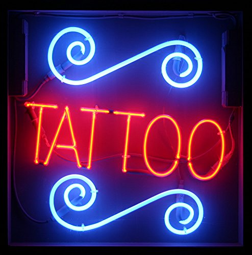 Tattoo Neon Sign 17''x14''Inches Bright Neon Light for Business Beauty Spa Salon Shop Store by Handa (Image #1)
