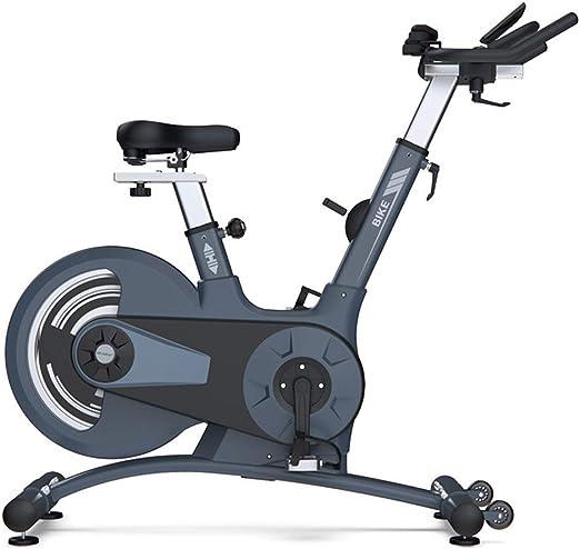 HLEZ Bicicleta Estática de Spinning Profesional, Sensor de Pulso ...