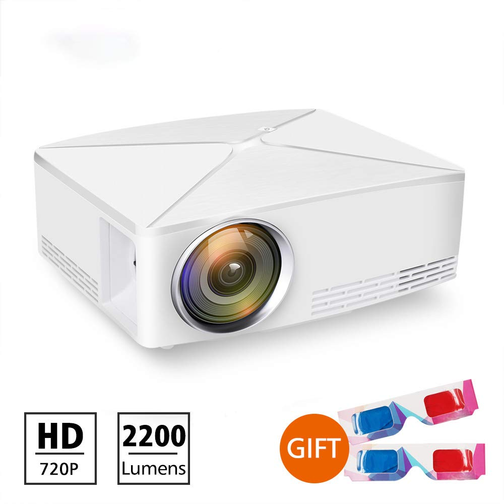 Amazon.com: Wo Fei Mini Projector 4K 1280X720 Resolution ...