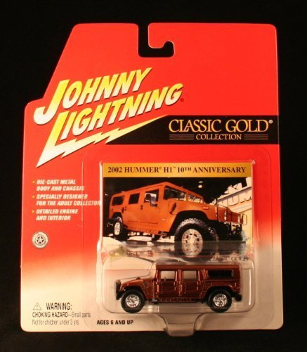 2002 HUMMER H1 * COPPER * Johnny Lightning 2002 CLASSIC GOLD 2 COLLECTION * Release 15 * 1:64 Scale Die Cast Vehicle